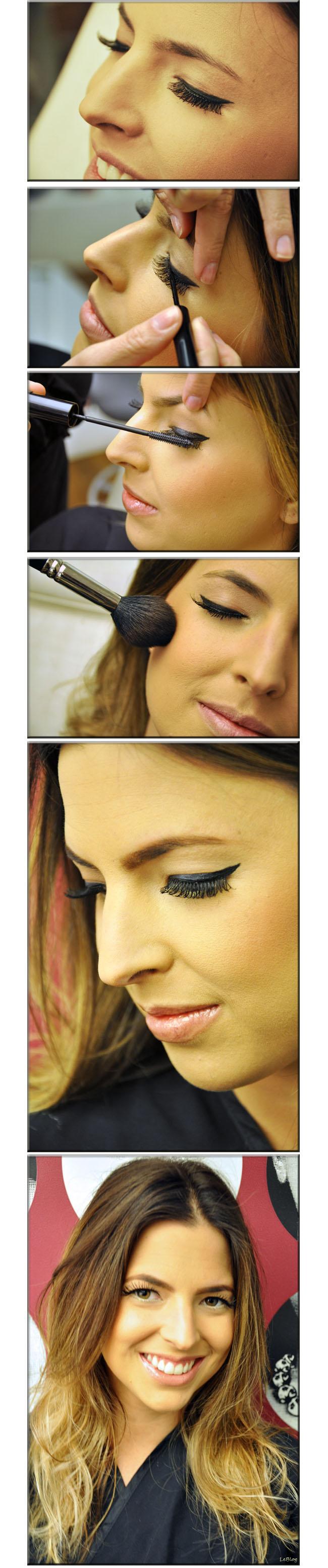 Maquiagem, make, maquiagem para noite, olhos marcados, salão marcos Proença, maquiadora Regiane, mascara de cílhos