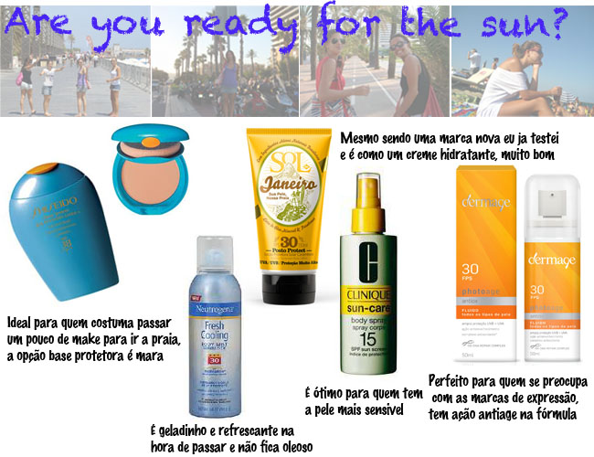 protetor solar, protetores solares, protetor solar clinique, sol de janeiro, dermage, protetor dermage, protetor neutrogena, dicas le blog, como se proteger do sol