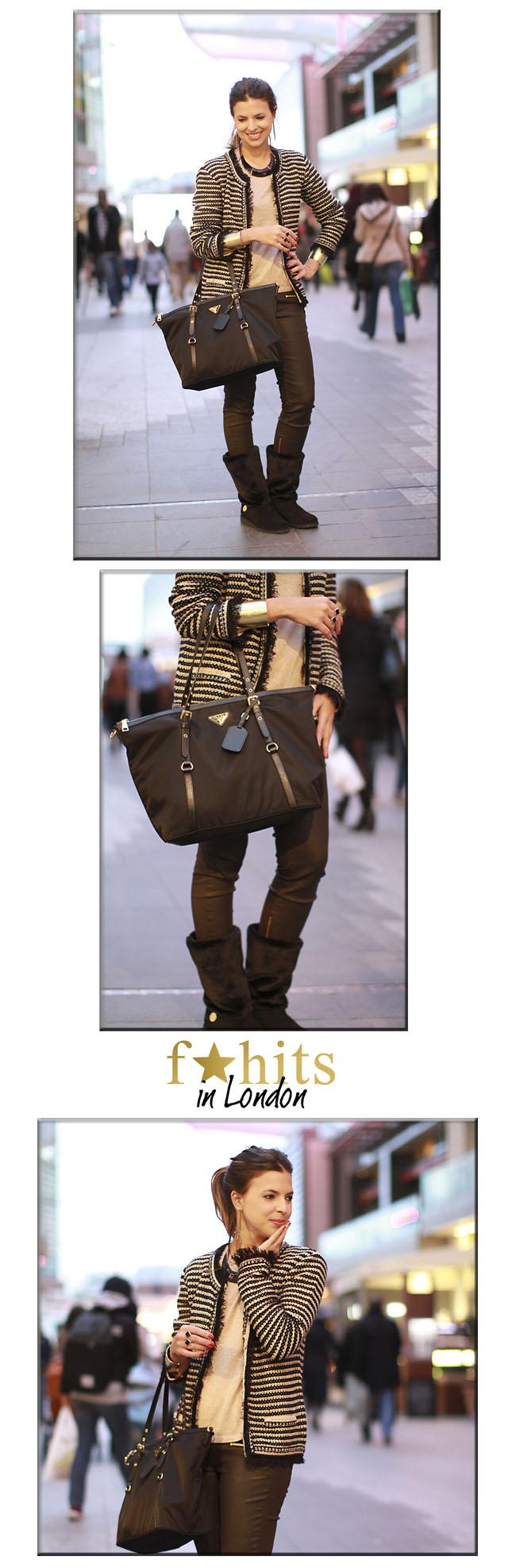 look, look trio, London, Londres, fhits londres, dicas de londres, bota Stuart, fhits, looks blogueiras, bota de pelo, Zara, calça Zara, Mob, bolsa prada, prada