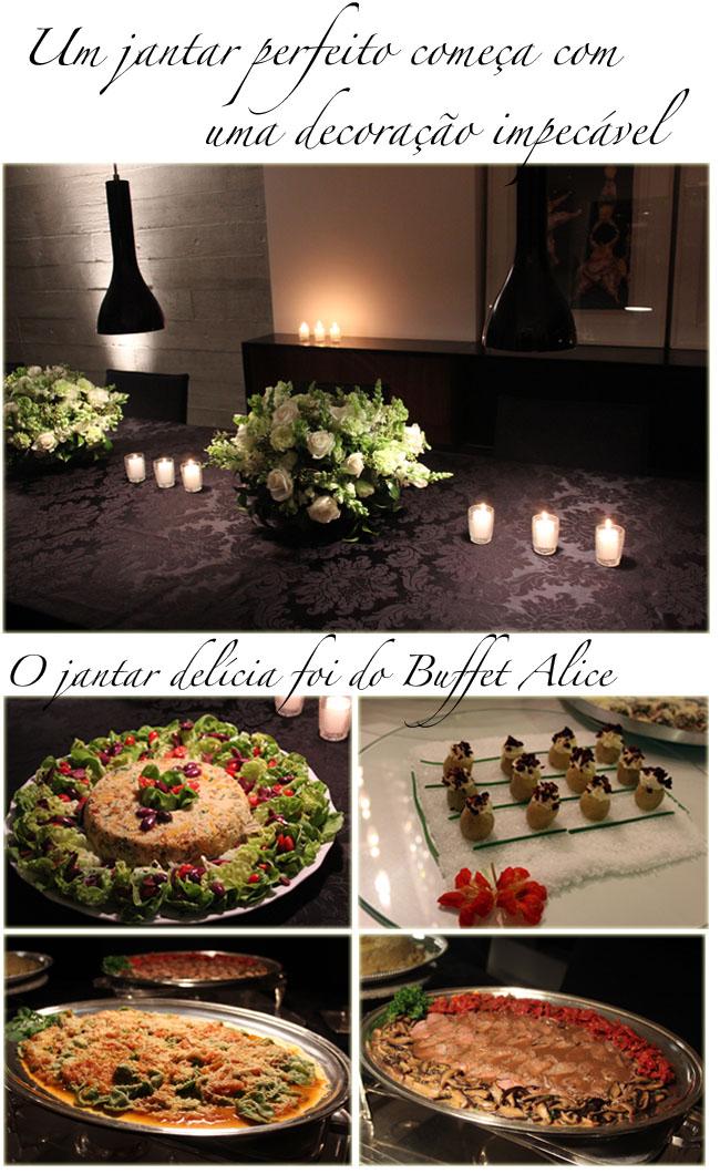 jantar paula martins, jantar blogueiras, paula martins, alice ferraz, look do dia, buffet em casa, buffet alice, fhits
