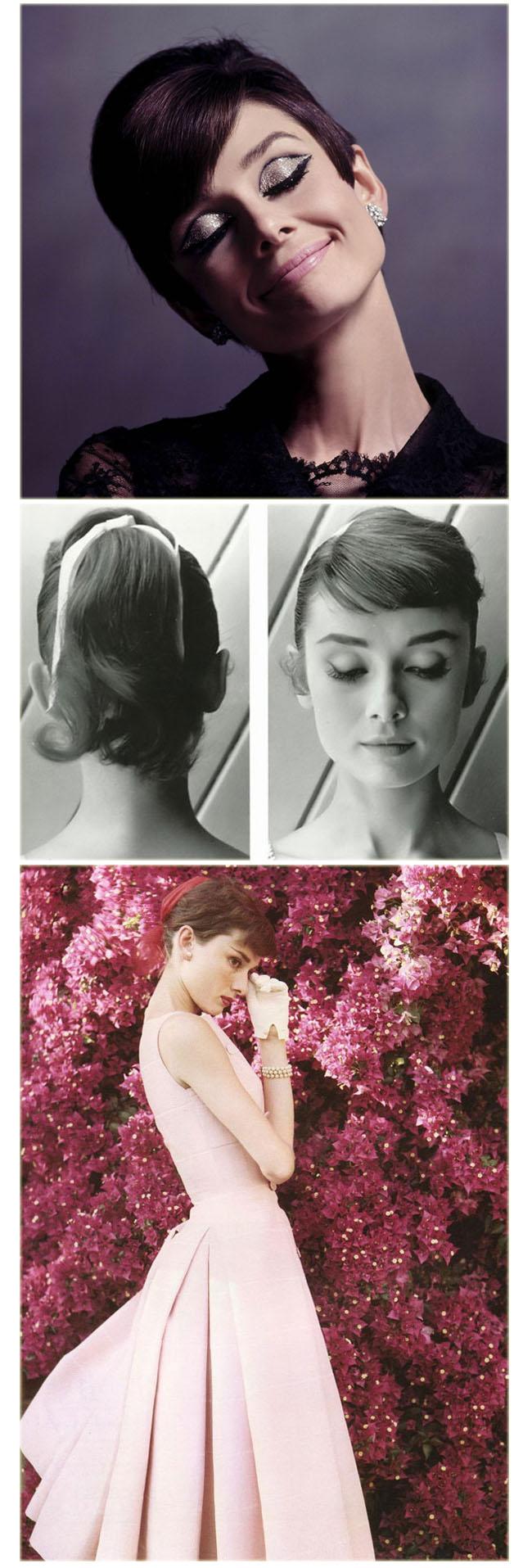 Audrey hepburn, frases, inspirações, maquiagem