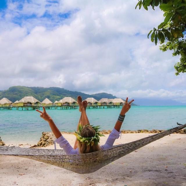 Tahitian vibes  Bom dia!!! letahaaislandresort feliz Tahiti viagens asilhasdetahitihellip