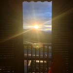 Amazing Sunset Depois de 18km de caminhada na chuva fomoshellip