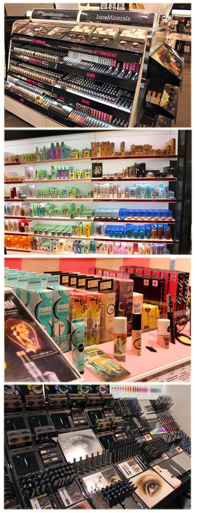 sephora, sephora no brasil, loja da sephora, maquiagem, bare minerals, benefit, sephora jk, shopping jk, make, esmalte