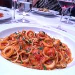 Spaguetti de frutos do mar! Clssico e maravilhoso gero fasanohellip