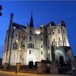 Chegando em Astorga que presente  O Palcio Episcopal dehellip